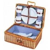 Kosz piknikowy z nakryciem dla 4 osób