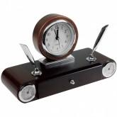 Luksusowy zegar biurkowy