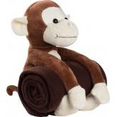 Pluszowa małpka z kocem