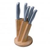 Zestaw noży ze stali nierdzewnej