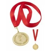 Medal metalowy złoty