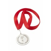Medal metalowy srebrny