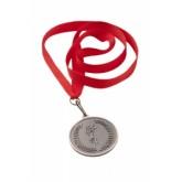 Medal metalowy brązowy