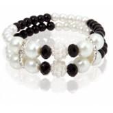Bransoletka - sztuczne perły