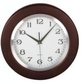 Drewniany ścienny zegar