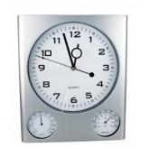 """Plastikowy zegar ścienny """"Den Haag"""""""